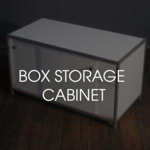 Box Storage Cabinet
