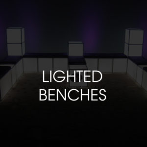 Lighted Benches