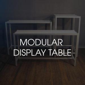 Modular Display Table