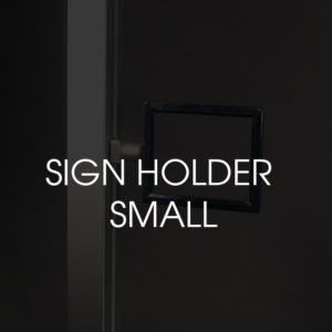 Sign holder Small (Reed)